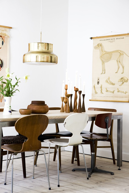 Inspiration dining room by bj rkheim for Q significa dining room