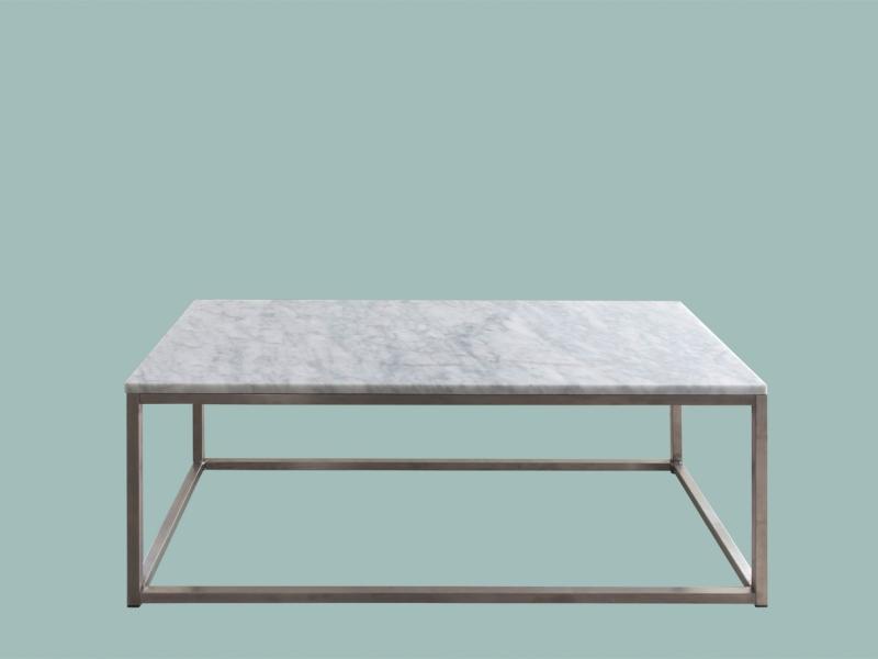 Carrara salongbord hvit marmor